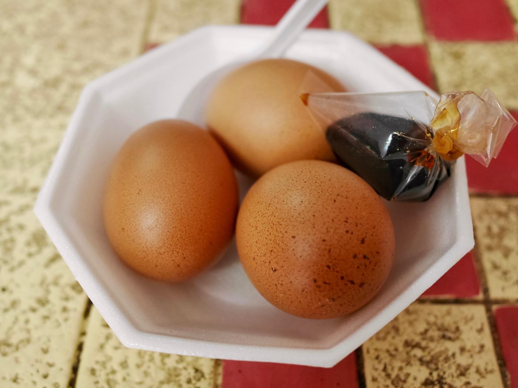 チェンライの温泉で食べたのは…温泉卵!『カイルアックナムレー』